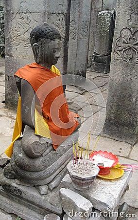 Buddhist Worship Cambodia
