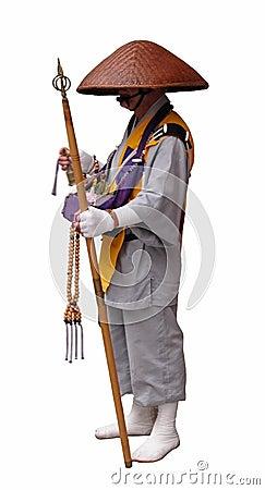Buddhistischer Pilgerer