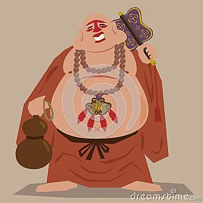 Buddism Zen monk