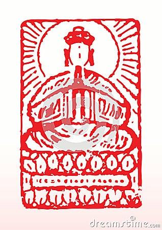 Buddist seal