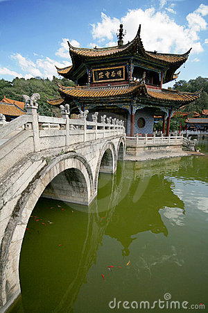 Buddist temple in China