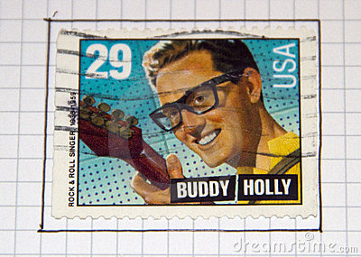 Buddy Holly Editorial Photo