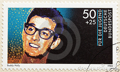 Buddy Holly Editorial Stock Image