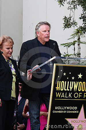 Buddy Holly, Gary Busey, Maria Elena Holly Editorial Photo