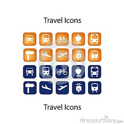 Buddy Travel Icons ICON SET