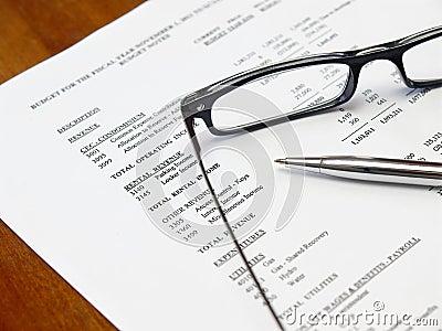 Budget document