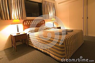 Budget Motel Room