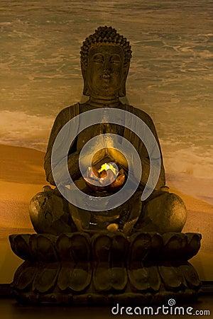 Free Budha In Spa Royalty Free Stock Photo - 9177035