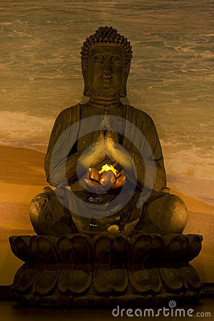 Budha in spa