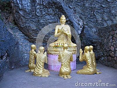 Budha teaching