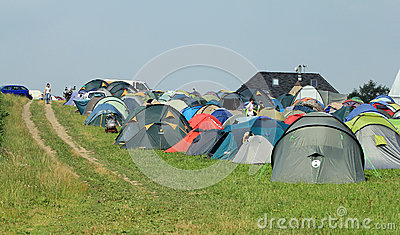 Budhist camp 2012 Editorial Photo