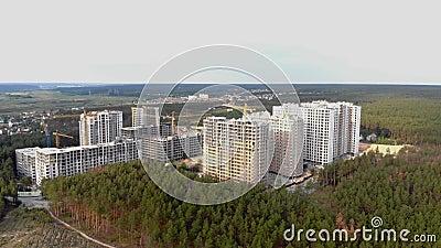 Budowa? miasto w lesie zbiory
