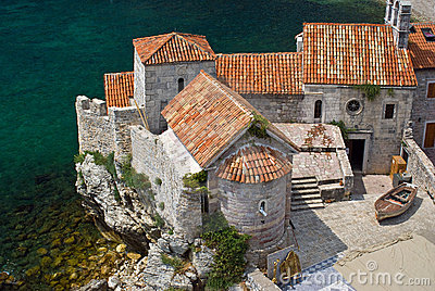 Budva ancient architecture, Montenegro