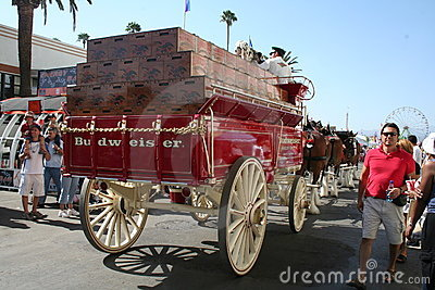 Budweiser Wagon Editorial Image