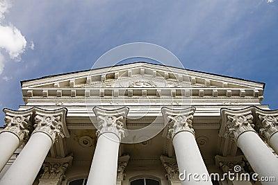 Budynek kolumny
