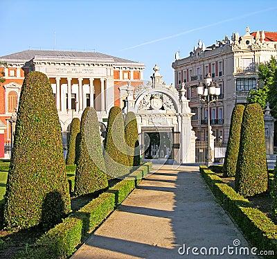 Buen-Retiro park, Madrid