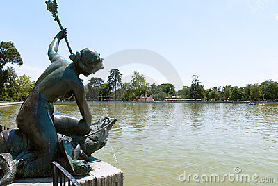 Buen Retiro Park, Madrid, Spain Royalty Free Stock Photography - Image: 15240177