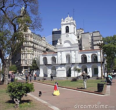 Buenos Aires Cabildo, South America Editorial Photo