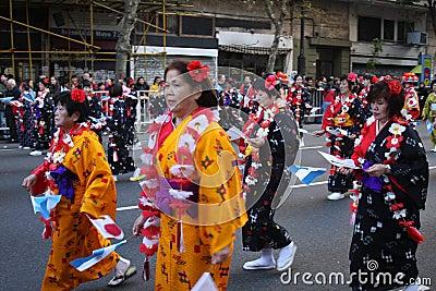 Buenos Aires celebra Japón 22 Editorial Photo