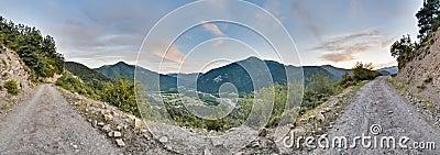 Buesa valley at Ordesa y Monte Perdido Park