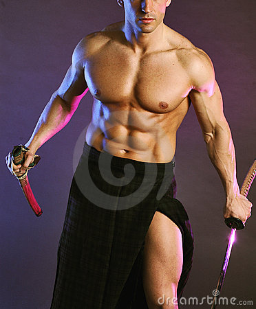 Free Buff Scotsman 2 Royalty Free Stock Photography - 1239967