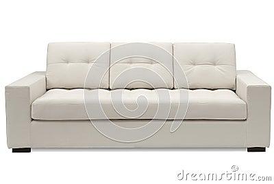 Buff sofa