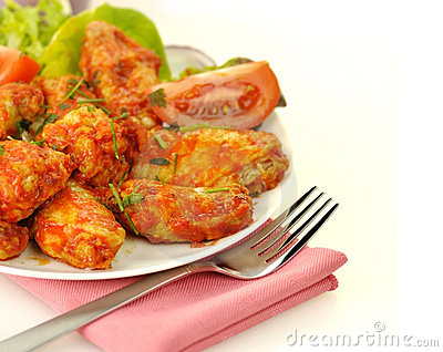 Buffalo chicken wing