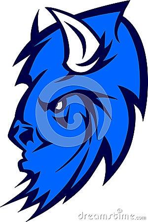 Free Buffalo Mascot Logo Stock Photo - 11520050