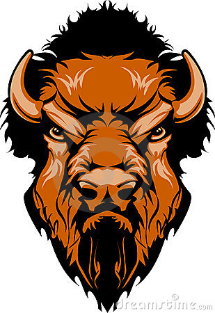 Free Buffalo Mascot Vector Logo Stock Photos - 11474183