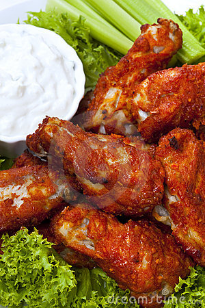 Free Buffalo Wings Royalty Free Stock Photography - 18569747
