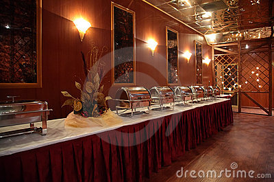 Buffet In Hotel Royalty Free Stock Photo - Image: 8633665