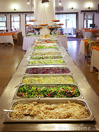 Free Buffet Trays Royalty Free Stock Image - 14541946