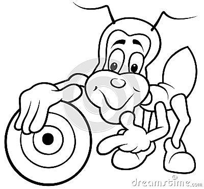 Bug and Dartboard