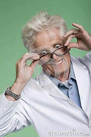 Bug-Eyed professor