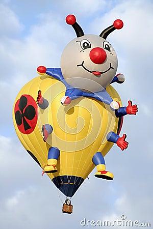 Bug Hot Air Balloon Editorial Stock Photo