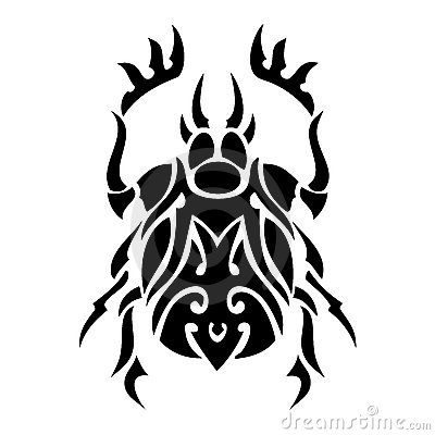 Bug vector tattoo