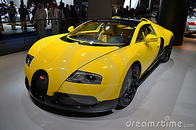 BUGATTI Editorial Stock Photo