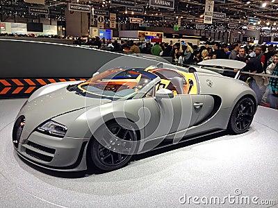 Bugatti Editorial Photo