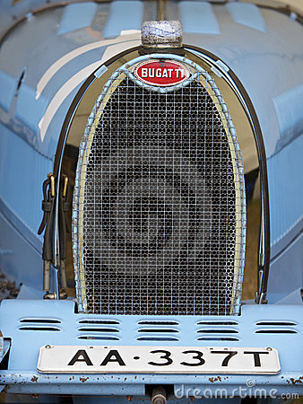 Bugatti, antique Editorial Stock Photo