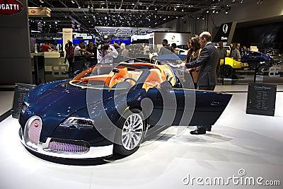 Bugatti Editorial Image