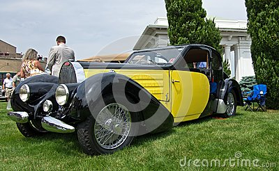 1938 Bugatti Editorial Stock Image