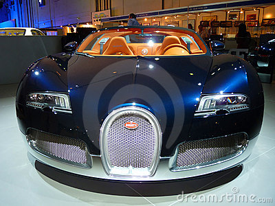 Bugatti Veyron Editorial Photo
