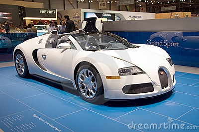 Bugatti Veyron 16.4 Grand Sport Editorial Image