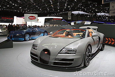 Bugatti Veyron 16.4 Grand Sport Vitesse Editorial Photo