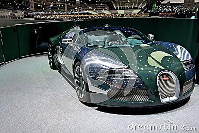 Bugatti Veyron 2014 Editorial Image