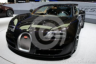 Bugatti Veyron 2014 Editorial Photo