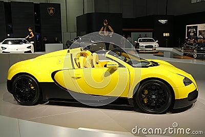Bugatti Veyron Editorial Photo