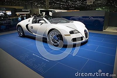Bugatti Veyron Centenaire Editorial Image