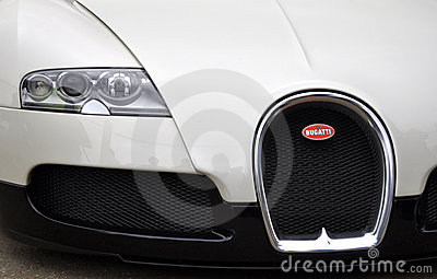 A Bugatti  Veyron EB 16.4 at Chelsea AutoLegends Editorial Stock Image