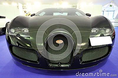Bugatti Veyron 16.4 Editorial Stock Photo